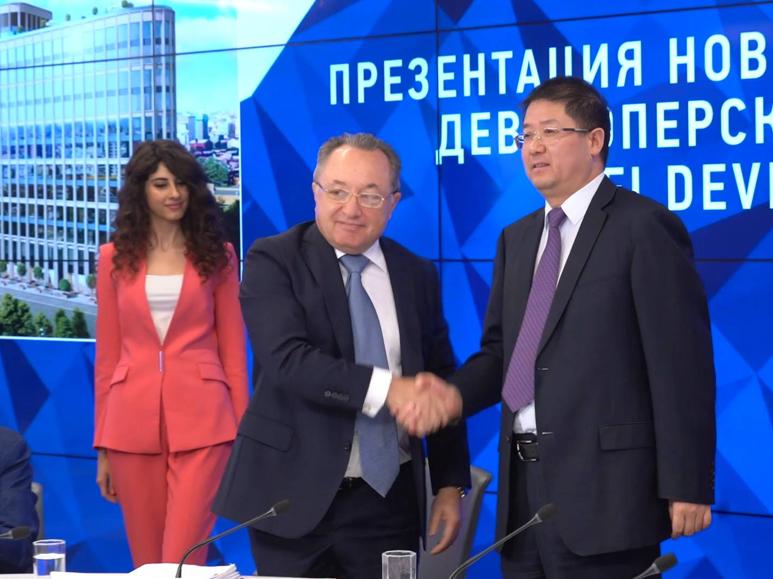 中国铁建在俄签署首个房建总承包项目合同