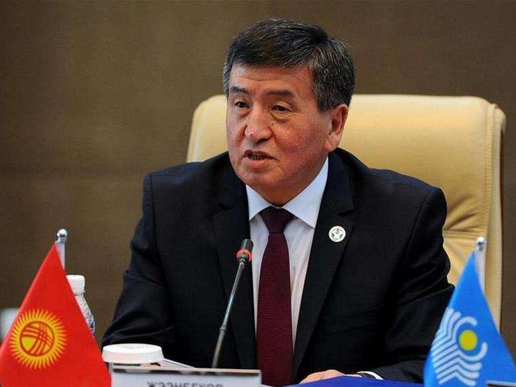 吉尔吉斯总统:愿与哈萨克斯坦扩大伙伴关系
