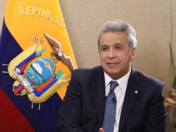 厄瓜多尔总统莫雷诺:愿推动厄中关系实现新发展