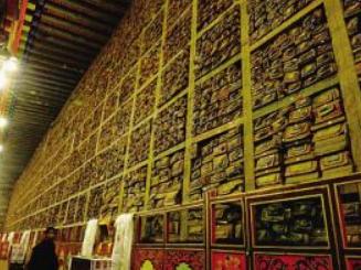 西藏加速让书写在古籍里的文字活起来