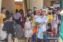 三亚海棠区首届亲子嘉年华文化周活动激情开幕
