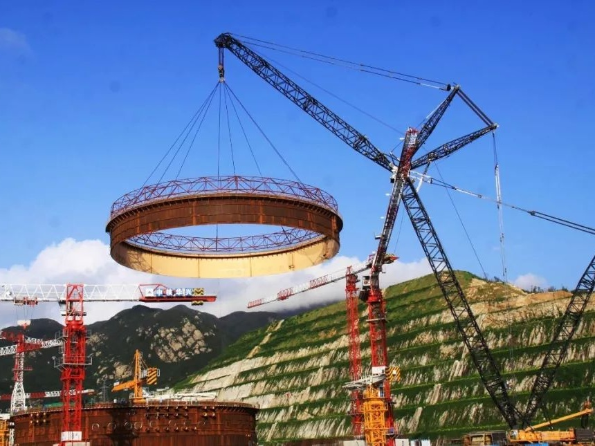 """让核电为""""一带一路""""建设贡献可持续发展动力"""