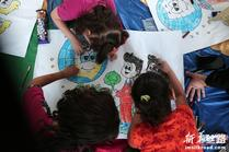 加沙儿童的夏日游戏