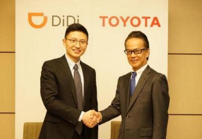 丰田和滴滴将成立合资公司服务网约车司机