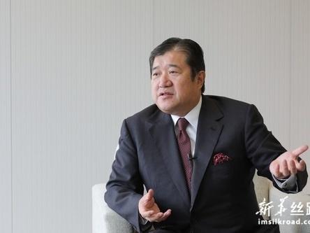 专访:中日第三国市场合作共赢——访日本三井物产董事长安永龙夫