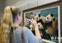 上海绒绣欧洲交流展在布鲁塞尔开幕