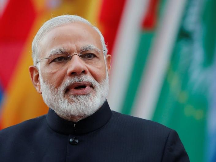 印度总理说未来五年把印度打造成5万亿美元经济体