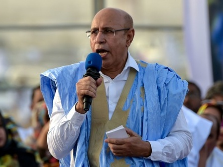 加祖瓦尼宣誓就任毛里塔尼亚总统