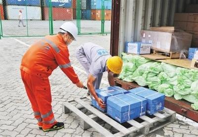 天津口岸开通国际中转集拼业务