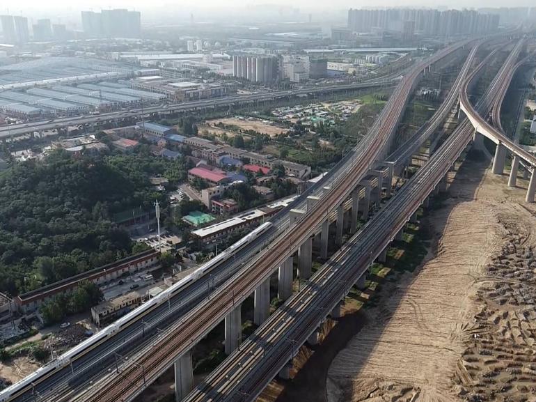 郑阜铁路河南段正式联调联试