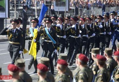 乌克兰举行活动庆祝独立日