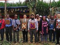 中国援助巴新菌草和旱稻技术项目启动
