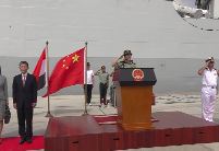 中国海军西安舰与埃及海军举行海上联合演练