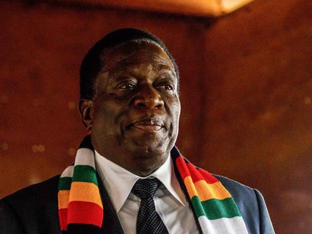 津巴布韦总统表示将确保国民口粮安全