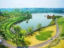 重庆双桥经济开发区水井湾湿地公园二期基础建设基本完成