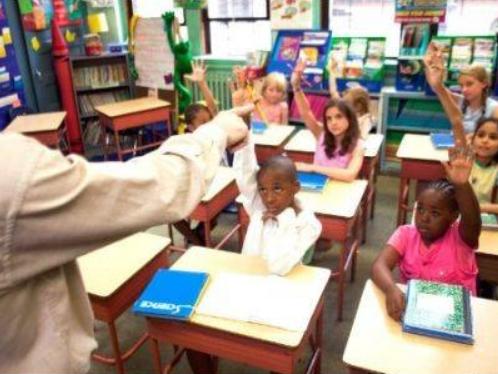 美国幼儿园及中小学白人学生比例持续下降
