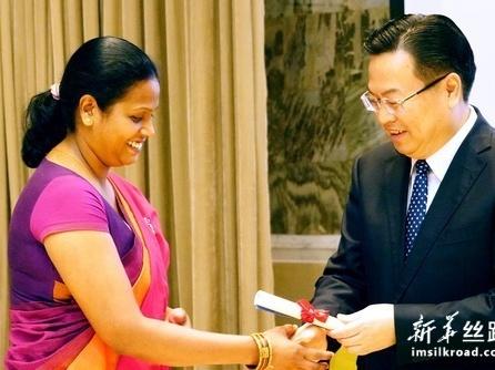 24名斯里兰卡学生获中国政府奖学金