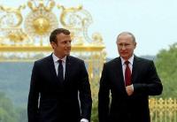 法俄总统表示愿加强双边合作并改善俄欧关系