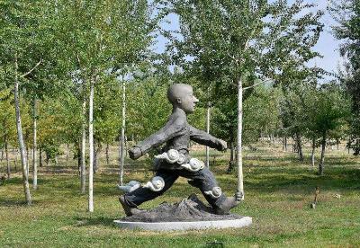 银川友谊雕塑园开园