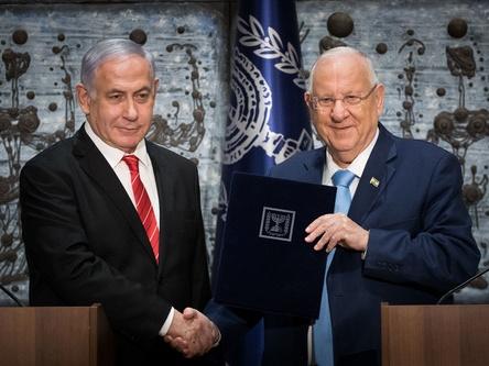 以色列总统授权内塔尼亚胡组阁