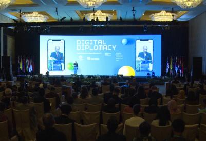"""""""数字外交:挑战与机遇""""地区会议在雅加达举行"""