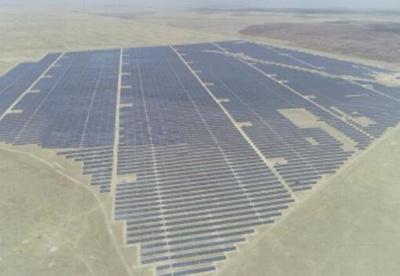 中企在哈投资卡普恰盖100MWp光伏电站正式并网运营