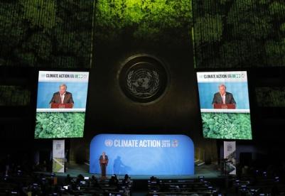 古特雷斯:联合国气候行动峰会取得务实成果