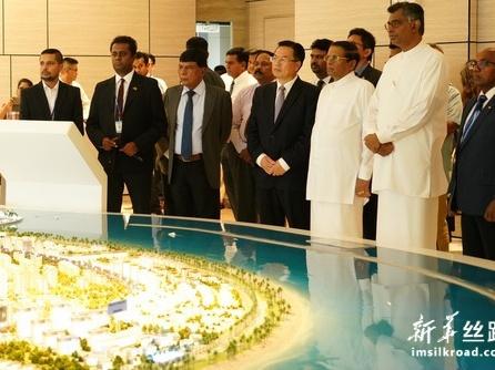 斯里兰卡总统:把港口城项目建成斯经济社会发展新引擎