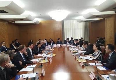 中奥第三方市场合作工作组第一次会议在京举行