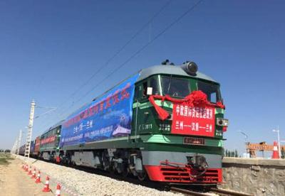 甘肃国际货运班列发运量快速增长