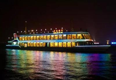 夜游长江成国庆旅游新宠 武汉港客运量创新高