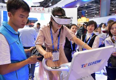 科技创新加速  助推VR产业蓬勃发展