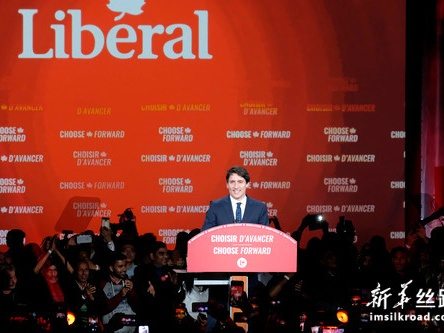 特鲁多连任加拿大总理