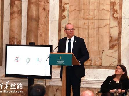 爱尔兰副总理说希望不断深化同中国的友好关系