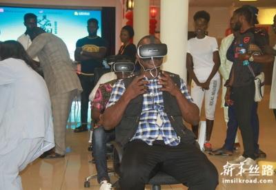 """VR美丽中国""旅游互动体验展惊艳尼日利亚"