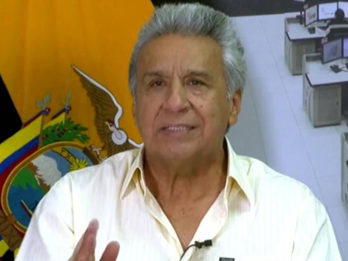 厄瓜多尔总统宣布在首都实施宵禁和军事管制