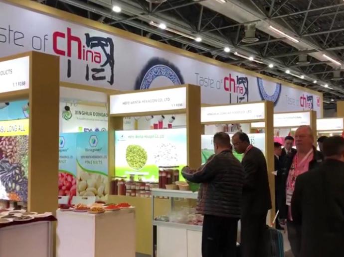 科隆国际食品博览会开幕  中国产品引关注