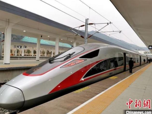 武汉至十堰高铁开通运营
