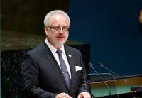 拉脱维亚总统签署关于停止给予新生儿非公民身份的法律