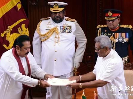 斯里兰卡新内阁宣誓就职
