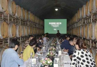 张裕百年地下大酒窖 领略舌尖味蕾的顶级享受