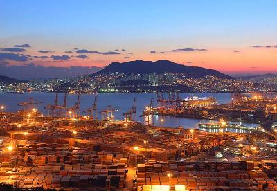 韩国10月进出口同比双下滑