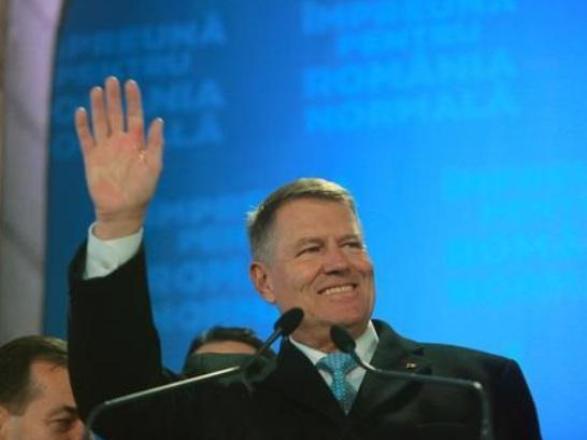 罗马尼亚现任总统约翰尼斯赢得连任