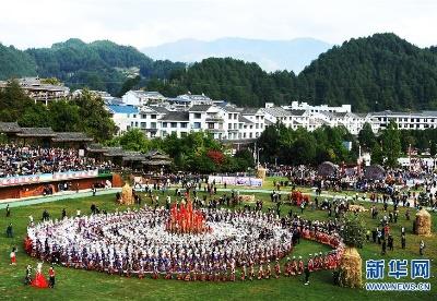 贵州雷山:苗族群众欢度苗年