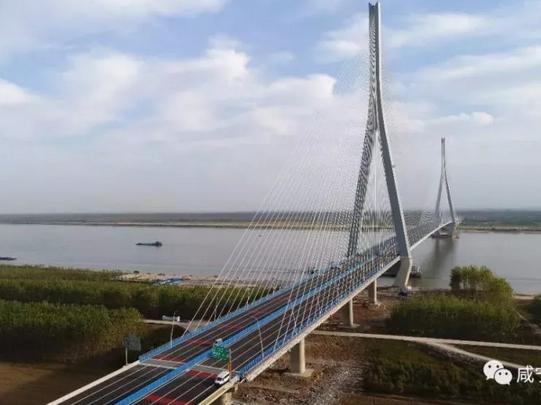 世界最大跨径非对称混合梁斜拉桥通车