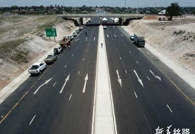 中企承建莫桑比克N6公路改扩建项目竣工通车