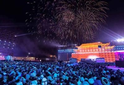 哈尔滨冰雪大世界跨年夜即将掀起冰雪狂欢趴