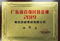 雪松控股位列2019广东省百强民营企业榜单第6位