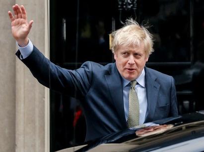 约翰逊就任英国首相