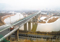 连通甘青两省新大桥——川海大桥正式开通